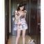 เดรสสั้นสีชมพูหวานๆ ลวดลายน่ารักๆ ขนาดกำลังดี แต่งคอเสื้อนิดๆ น่าใส่สุดๆ thumbnail 19