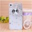 เคสไอโฟน 4/4s (Case Iphone 4/4s) เคสไอโฟนกรอบโปร่งใสประดับเพชรและคริสตัลขาวรูปมงกุฏ thumbnail 1
