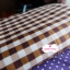 ผ้าคอตตอนไทย 100% 1/4ม.(50x55ซม.) ลายตารางโทนสีน้ำตาล thumbnail 3