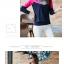 เสื้อยืดแขนยาวแฟชั่น สีสันจี๊ดๆ ตัดกันอย่างโดดเด่น ผ้านิ่ม น่าใส่มากๆ thumbnail 7