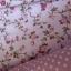 ผ้าคอตตอนไทย 100% 1/4 ม.(50x55ซม.) ลายดอกไม้ พื้นสีชมพู thumbnail 1