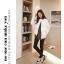 เสื้อกันหนาวแฟชั่น สไตล์สาวๆ เกาหลี สีพื้นขาวและดำ รีบซื้อใส่ก่อนลมหนาวที่จะมานะคะ สาวๆ thumbnail 6