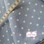 ผ้าคอตตอนลินิน 100% 1/4 ม.(50x55ซม.) พื้นสีฟ้าคราม ลายจุดสีขาว thumbnail 3