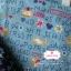 ผ้าคอตตอนไทย 100% 1/4 ม.(50x55ซม.) พื้นสีฟ้า ลายABC thumbnail 1