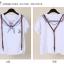 เสื้อแฟชั่นเกาหลี มาในสไตล์กลาสีเรือน่ารักๆ พร้อมสายเข็มขัดเข้าชุด thumbnail 6