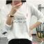 เสื้อยืดคอกลมแฟชั่น สกรีนลายน่ารักๆ ดูสวย สมวัยใส่ได้ทุกวัน thumbnail 3