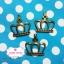 ตัวห้อยซิปทองเหลือง รูปมงกุฎ ขนาด ก 2.5 x ย 2.5 ซม. thumbnail 1