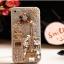 เคสไอโฟน 6 Plus / 6s Plus (Hard Case กรอบใส) ประดับเพชรขวดน้ำหอมและหอคอย thumbnail 1
