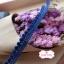 ลูกไม้แต่งปอมปอมเล็กสีน้ำเงิน กว้าง 1 ซ.ม. แบ่งขายเป็นหลา thumbnail 4