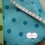 ผ้าคอตตอนลินิน 1/4ม.(50x55ซม.) พื้นสีฟ้าอ่อน ลายจุดสีฟ้าเข้ม thumbnail 1