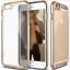 เคสไอโฟน 7 (TPU + PC ) ขอบสีชมพูทอง หลังใส thumbnail 1