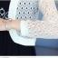 เสื้อคลุมแชั่น สีขาว - ดำ ยอดนิยม ลูกไม้ลายเก๋ๆ ใส่สบาย ระบายอากาศได้ดี thumbnail 26