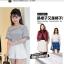 กางเกงแฟชั่นสตรี ขาสั้นขนาดกำลังดี จับจีบสวยๆ ใส่กับเสื้อลายไหนก็สวย thumbnail 2