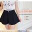 กางเกงแฟชั่นสตรี ขาสั้นขนาดกำลังดี จับจีบสวยๆ ใส่กับเสื้อลายไหนก็สวย thumbnail 7