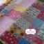 ผ้าคอตตอนลินินญี่ปุ่น 100% 1/4 ม.(50x55ซม.) ลายต่อผ้า โทนสีชมพู thumbnail 2