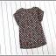 เสื้อยืดแฟชั่นเกาหลี สีพื้นตัดกับลายจุดด้านหลังของตัวเสื้อ กระเป๋าด้านหน้า thumbnail 9