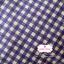 ผ้าคอตตอนลินิน 1/4ม.(50x55ซม.) ลายตาราง โทนสีน้ำเงินม่วง thumbnail 2