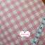 ผ้าคอตตอนลินิน 1/4ม.(50x55ซม.) ลายตารางสีชมพู thumbnail 1
