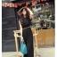 เดรสแฟชั่นเกาหลี ทรงเก๋ จับจีบเพิ่มมิติเวลาพริ้วไหว กับสีสุภาพหรูหรา thumbnail 23