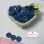 กระดุมพลาสติกสีน้ำเงิน ขนาด 1.5 ซ.ม. จำนวน 12 เม็ด(1โหล) thumbnail 2