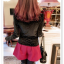 เสื้อแฟชั่นเกาหลีใหม่ ผ้ากำมะหยี่สีมันวาว ตกแต่งคอเสื้อด้วยเพชรสีสันสวยงาม thumbnail 11