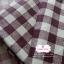 ผ้าคอตตอนลินิน 1/4ม.(50x55ซม.) ลายตารางสีน้ำตาลเข้ม thumbnail 2