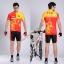 พรีออเดอร์ ชุดปั่นจักรยาน เสื้อปั่นจักรยานแขนสั้น+กางเกงปั่นจักรยานขาสั้น รหัส C067-4 thumbnail 1