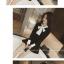 เสื้อแขนยาวแฟชั่น สะดุดทุกสายตาด้วยโบว์ที่คอเสื้อขนาดใหญ่ กับการเล่นสีดำ ตัดกับสีขาว thumbnail 5