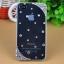 เคสไอโฟน4/4s (Case Iphone 4/4s) เคสไอโฟนกรอบโปร่งใส ประดับเพชรที่มุมขอบ เรียบหรู thumbnail 2