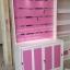 ตู้โชว์ ชั้นเเขวนสินค้า ระเเนงหลังไม้ วินเทจ สีขาว สำหรับร้านค้า thumbnail 5