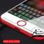 ปุ่มโฮมไฮโฟน (Touch ID Button) สแกนลายนิ้วมือได้ สีขาวขอบแดง thumbnail 1
