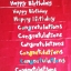 สายผ้าคาด หมอนอิงตุ๊กตา วันเกิด (Happy Birthday) สีแดง ## พร้อมส่งค่ะ ## thumbnail 4
