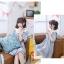 เดรสแฟชั่นชุดกลาสี สไตล์สาวญี่ปุ่น แต่งปกเสื้อ น่ารักสมวัยใสๆ thumbnail 10