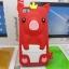 เคสไอโฟน 5/5s/SE (Case Iphone 5/5s/SE) เคสซิลิโคน หมูน้อย สีแดง thumbnail 1