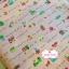 ผ้าคอตตอนไทย 100% 1/4 ม.(50x55ซม.) พื้นสีโอรส ลายบ้าน thumbnail 2
