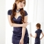 ch016 ชุดแฟนซี ชุดคอสเพลย์ ชุดกี่เพ้าสีน้ำเงิน พร้อมจีสตริงคะ thumbnail 1