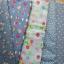 Set 5 ชิ้น : ผ้าคอตตอน100% โทนสีฟ้า 4 ลายและผ้าแคนวาส ลายจุด แต่ละชิ้นขนาด1/8 ม.(50x27.5ซม.) thumbnail 1