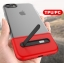 (Sale) เคสไอโฟนรุ่นป้องกันกล้อง+กันกระแทก+ขาตั้งพับได้ (Upper TPU ใส +Lower PC เขียว) IPhone 7 thumbnail 12