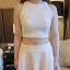 เสื้อแฟชั่นเกาหลี มาพร้อมกระโปรงเข้าชุด น่ารักๆ แต่ก็เซ๊กซี่ไม่เบา thumbnail 7