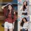 เสื้อแฟชั่นเกาหลี ใส่ชิลๆ ดูเรียบง่าย แต่เก๋ไก๋ไม่เบา thumbnail 1