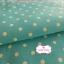 ผ้าคอตตอนลินิน 1/4ม.(50x55ซม.) พื้นสีฟ้า ลายจุดสีขาว thumbnail 3