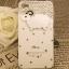 เคสไอโฟน 4/4s (Case Iphone 4/4s) ( เคสไอโฟนสีขาวประดับเพชร รูปแกะน้อย ) thumbnail 1