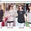 เสื้อขาว-ดำแฟชั่น ดีไซน์ทรงยาว มีให้เลือกทั้งแบบแขนสั้นและแขน 5 ส่วน thumbnail 1
