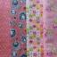 Set 4 ชิ้น ผ้าคอตตอนไทย 4 ลาย โทนสีส้ม แต่ละชิ้นขนาด 27.5×50 ซม. thumbnail 1