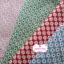 ผ้าคอตตอนไทย 100% 1/4 ม.(50x55ซม.) พื้นสีเขียวอ่อน ลายดอกไม้สีขาว thumbnail 3