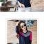 เสื้อยืดแขนยาวแฟชั่น สีสันจี๊ดๆ ตัดกันอย่างโดดเด่น ผ้านิ่ม น่าใส่มากๆ thumbnail 5