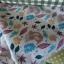 ผ้าคอตตอนไทย 100% 1/4 ม.(50x55ซม.) ลายใบไม้และกระรอก thumbnail 2