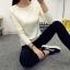 เสื้อแขนยาวแฟชั่นเกาหลี แต่งแขนลายนูนแบบลูกคลื่น สวยเก๋ นุ่มสบาย thumbnail 11