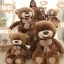 ตุ๊กตาหมีบราวน์ ยิ้ม ตัวใหญ่ม๊าก อ้วนม๊ากๆ thumbnail 3