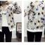เสื้อกันหนาวแฟชั่น คอกลม ขนาดกำลังดี สกรีนลายสวยๆ น่าใส่มากค่ะ thumbnail 1